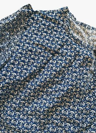 Шикарная новая блуза в узор s-m размер3