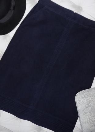 Очень плотная ткань, тёплая юбка миди2 фото