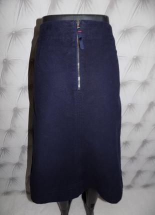 Очень плотная ткань, тёплая юбка миди4 фото