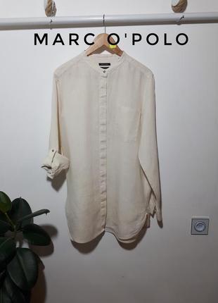 Marc o'polo льняное платье - рубашка