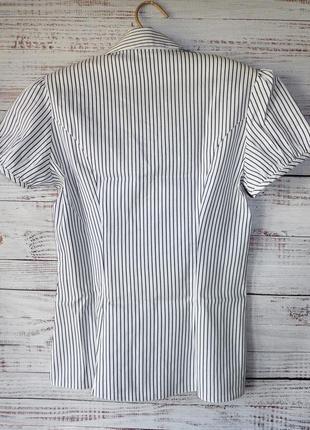 Блуза легкая коттоновая в полоску2