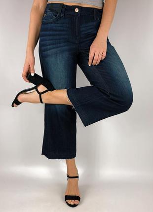 Джинсовые брюки кюлоты