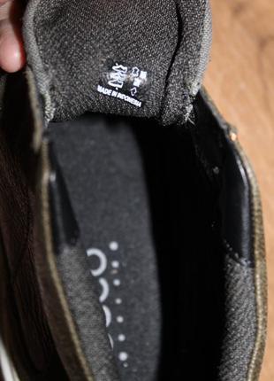 Кожаные ботинки ecco caden5 фото