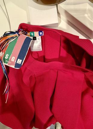 Яркая пышная дизайнерская юбка от msgm