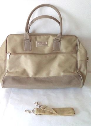 Большая,удобная и  практичная сумка авон