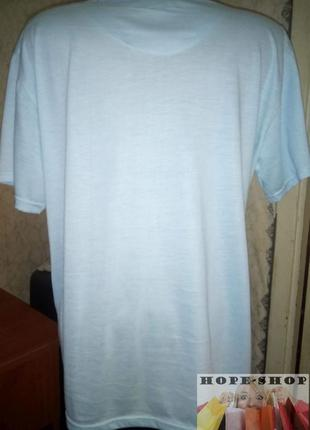 Трикотажная домашняя футболка,рубашка для сна с длинным рукавом 8/103