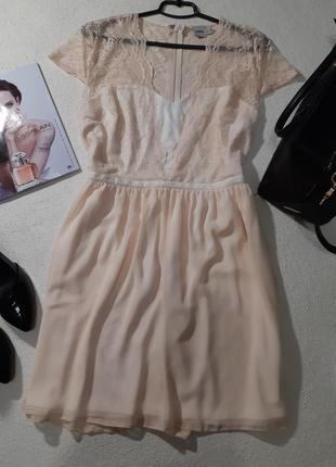 Красивoе нежнейшее платье. размер xxl маломерит наxl2 фото