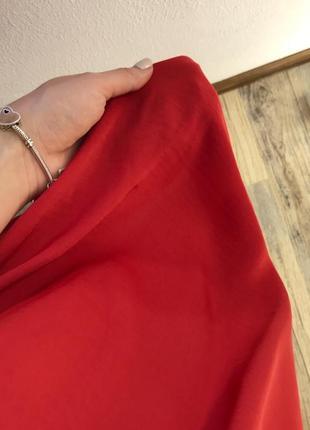 Яркое струящееся платье mango4 фото