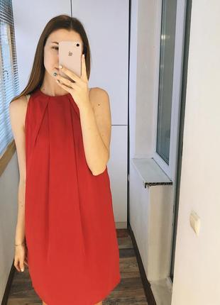 Яркое струящееся платье mango2 фото