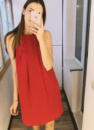 Яркое струящееся платье mango1 фото