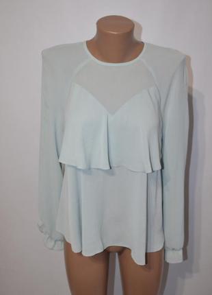 Блузка с воланом1