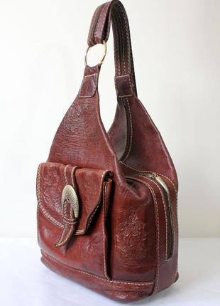 bf0416cc02f3 Коричневые женские натуральные рюкзаки 2019 - купить недорого вещи в ...