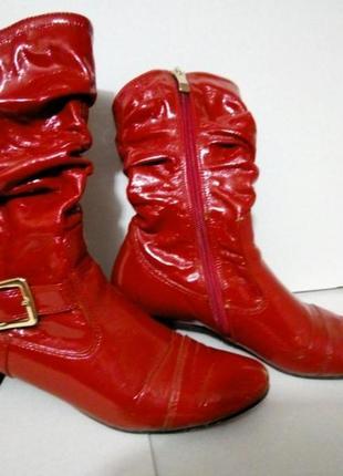 Красные сапожки jose amorales