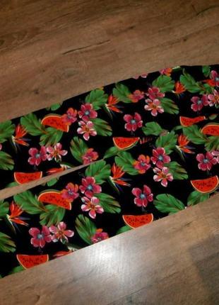 Качество!!модные легкие штаники *papaya*р.44/46(xl)(сост.идеальное)