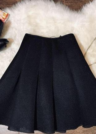 Красивая юбка солнце клеш от primark atmosphere черная