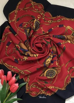 Подписной ♥️🖍♥️ шелковый платок tino lauri, италия.