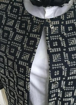 Удлиненный жакет,пиджак,тренч,кардиган,легкое пальто фактурное,,хлопок5 фото