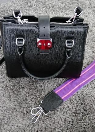 Новая кожаная сумка miraton