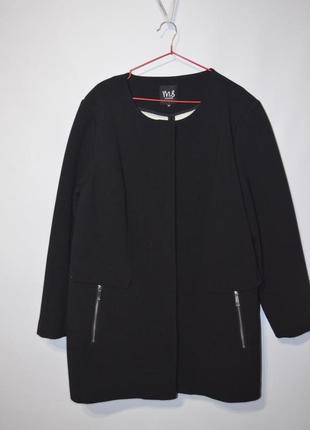 Жакет пальто на молнии2 фото
