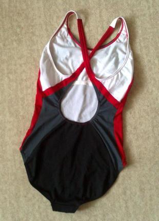 44р. сплошной купальник для плавания, бассейна speedo endurance большой бюст или рост2 фото