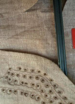 Блуза лен3