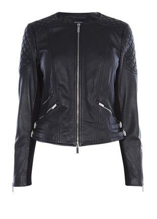 Стильная кожаная курточка karen millen