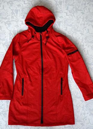 Женская куртка softshell, длинная женская куртка softshell