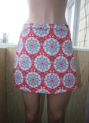 Стильная юбка в мандалах этно бохо1 фото