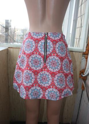 Стильная юбка в мандалах этно бохо2