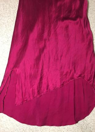 Оригинал hobbs s-ка/ шелковая ночная рубашка шелковый пеньюар натуральный шелк 100% англия2