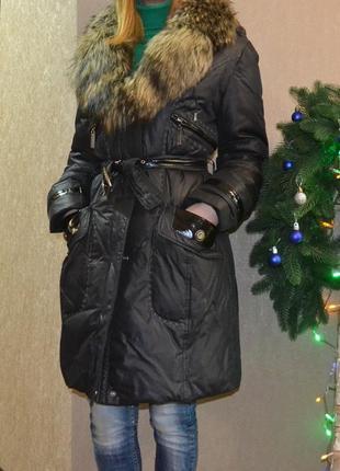 Пуховое пальто  snow beauty