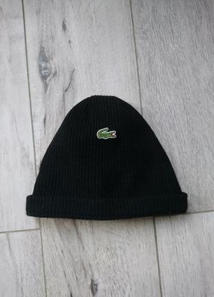 Стильна оригінальна шапка lacoste made in france