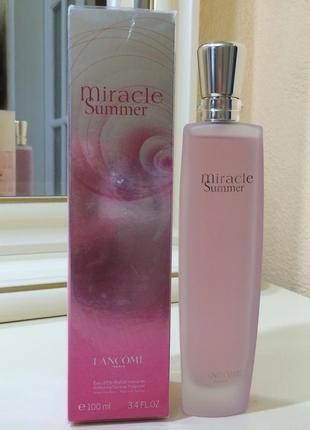 Духи lancome miracle summer, 100 мл, стародел