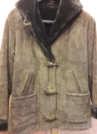 Классная куртка , замшевая