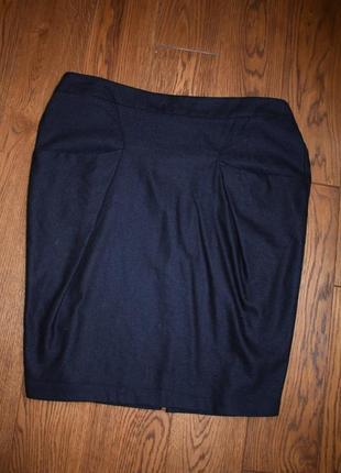 Стильная юбка карандаш sisley benetton, размер m-l
