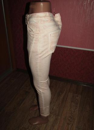 Укороченные брюки р-р м стрейч miss2 фото