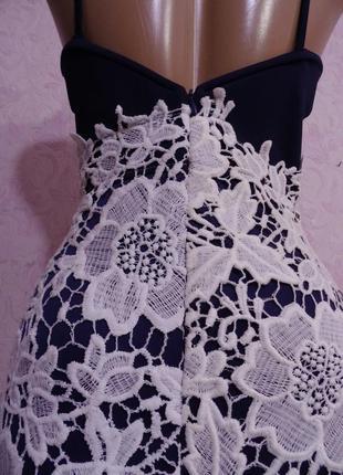 Платье с кружевом4 фото