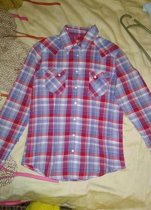 Рубашка wrangler 12 - 13 лет