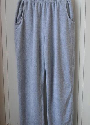 Домашние штаны мягкие штаны серые штаны