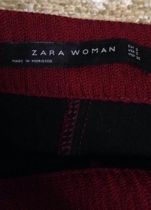 Плотная юбка трапеция zara!4 фото