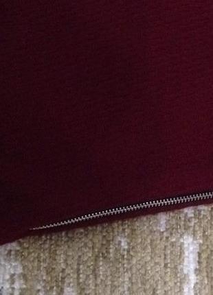 Плотная юбка трапеция zara!3 фото
