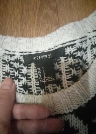 Теплый свитер кофта2