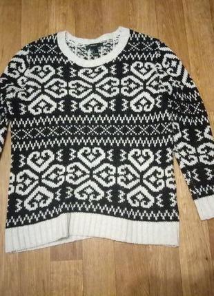 Теплый свитер кофта1