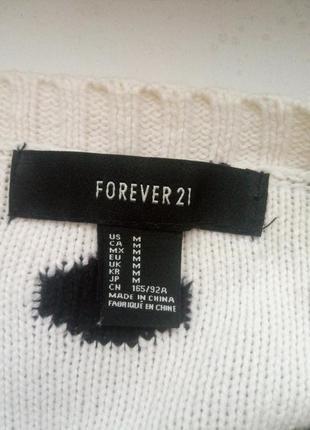 Теплый укороченный свитер кофта3