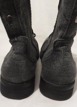 Ботинки 37 размер2