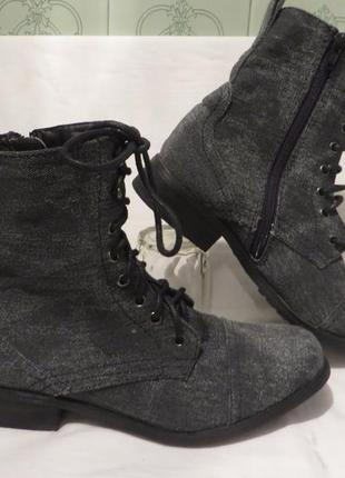 Ботинки 37 размер1