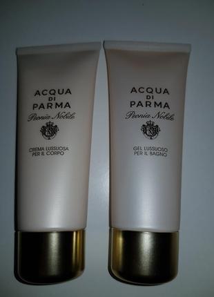 Acqua di parma peonia nobile, крем для тела  и гель для душа, оригинал!