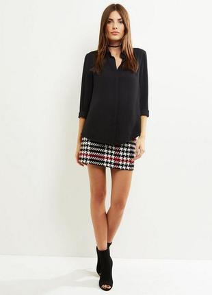 Стильная рубашка с вырезом на спине, блуза нарядная классическая2 фото