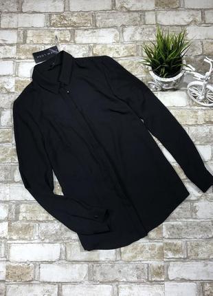 Стильная рубашка с вырезом на спине, блуза нарядная классическая5 фото