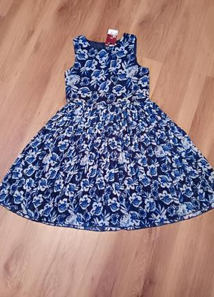 Фирменное  шифоновое платье
